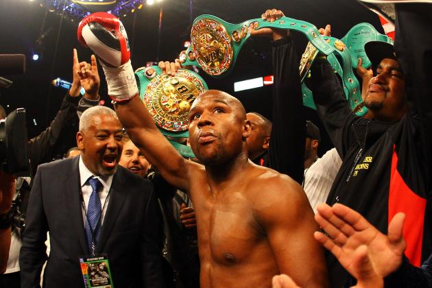 Floyd Mayweather: 10 Things We Learned from Money's Performance Last Night