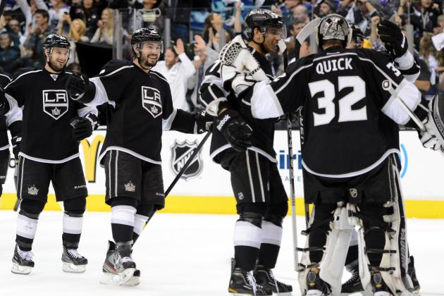 NHL Playoffs 2012: 14 Memorable Moments of the LA Kings' 8-1 Playoff Run