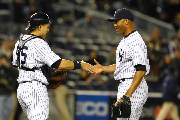 Mariano Rivera and 12 of the Greatest Yankees
