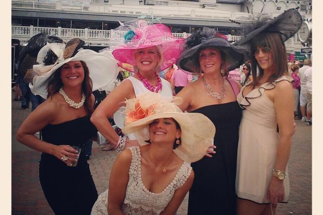 Kentucky Derby Hats: Images of Saturday's Most Outrageous Headwear