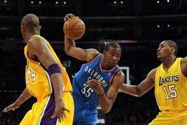 8 Reasons Why Los Angeles Lakers Will Sweep Oklahoma City Thunder