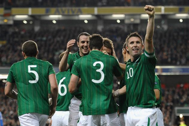 Euro 2012: Selecting Republic of Ireland's Starting XI from Their Squad of 23