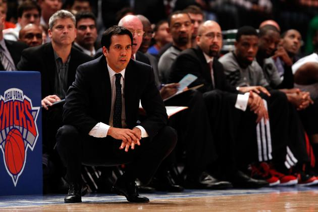 NBA Playoffs 2012: 10 Things to Keep Spoelstra Up at Night in the 2nd Round
