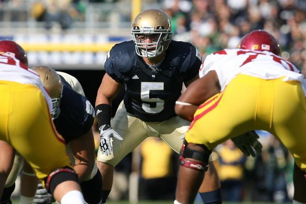 Notre Dame Football: Manti Te'o and Ranking the Lott Trophy Watch List