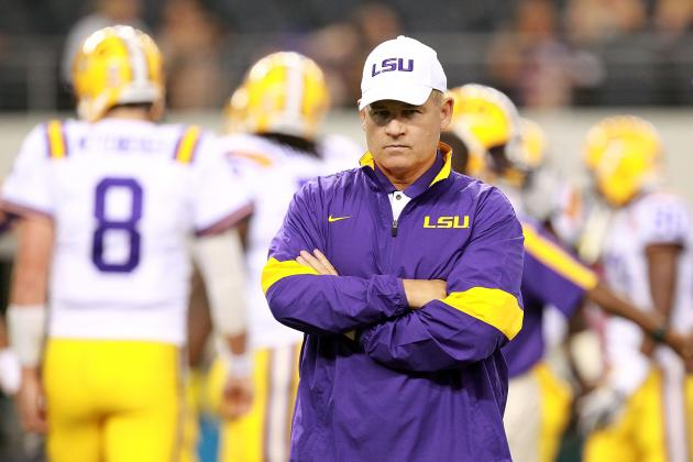 LSU Football: 5 Things That Will Keep Les Miles Up at Night