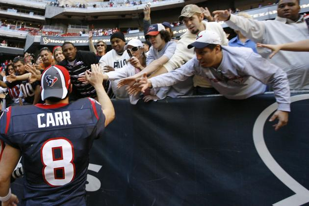 David Carr Among 8 Most Overrated Houston Texans in Franchise History