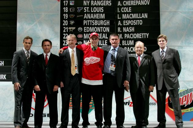 NHL Draft 2012: 4 Holes the Detroit Red Wings Will Look to Fill at the Draft