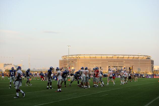 Five New York Giants Training Camp Battles to Watch