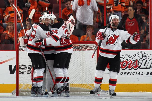 NHL Playoffs 2012: 8 Takeaways from the Devils' Series Win over the Flyers