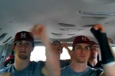 College Baseball Dance-offs and Harvard's 'Call Me Maybe'