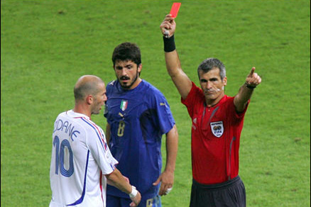 Euro 2012: 10 Players Most Likely to Get Red Cards This Summer