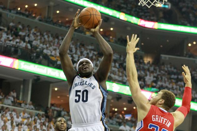 NBA Playoffs 2012: 6 Reasons Why Memphis Grizzlies Trail in Series vs. Clippers