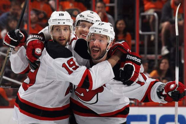 NHL Playoffs 2012: Performance Grades for 10 New Jersey Devils