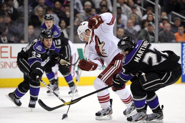 NHL Playoffs 2012: 5 Reasons the Phoenix Coyotes Are Done If They Lose Game 1