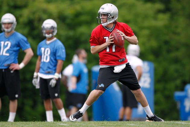 6 Reasons to Believe Kellen Moore Makes Detroit Lions' Final Roster