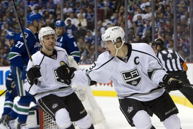 NHL Playoffs 2012: 6 Kings and Coyotes Players That Are Up for the Conn Smythe