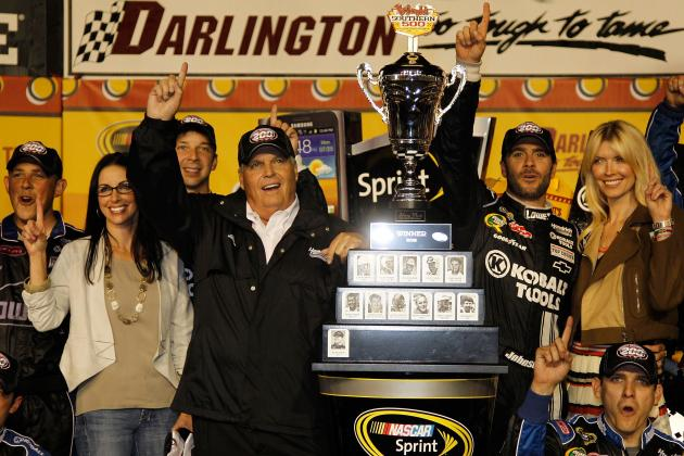 NASCAR Power Rankings: Top 20 Drivers Coming out of Darlington
