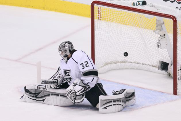 NHL Playoffs 2012: Derek Morris and 5 Other Memorable Goals from Center Ice