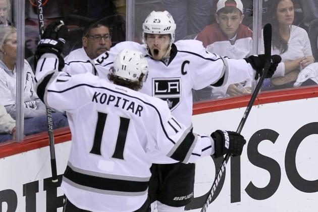 NHL Playoffs 2012: 3 Stars from Game 1 of the Kings vs. Coyotes Series