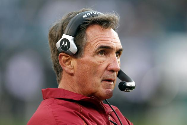 Washington Redskins: 5 Reasons Mike Shanahan Is on Thin Ice