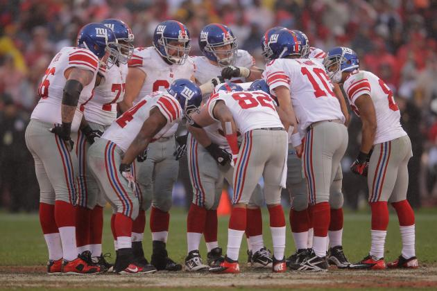 Early Breakdown of New York Giants' 2012 Schedule