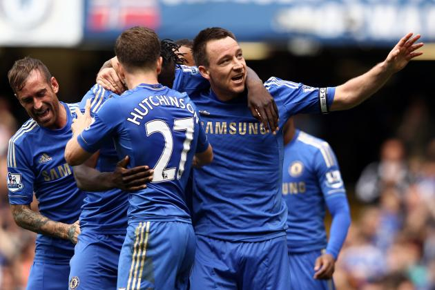 Chelsea: Top 5 Goals from 2012 Season