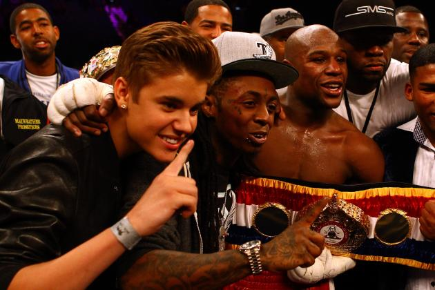 Justin Bieber, Lil Wayne and the 20 Highest-Profile Boxing Fans