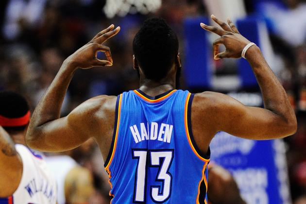 NBA Playoffs 2012: Power Ranking James Harden and the Best Sixth Men