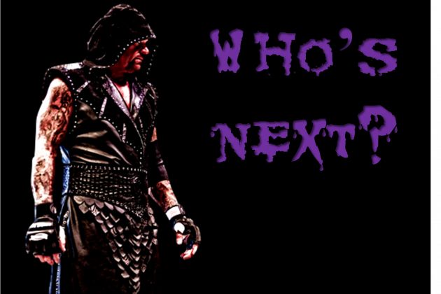 WWE: Who Should Be Undertaker's Next Opponent?