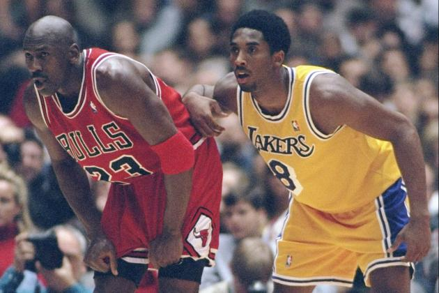 Kobe Bryant vs. Michael Jordan: Comparing Careers If Kobe Gets Sixth Title