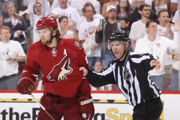 NHL Playoffs: Will Phoenix Coyotes Be Punished Further for 4 Dangerous Plays?