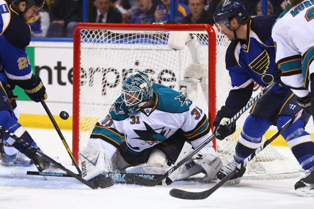 San Jose Sharks: 2012 Stanley Cup Playoff Grades for Blue Line, Goalie
