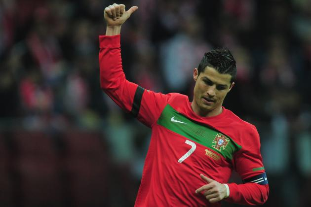 Portugal Euro 2012 Roster: Analyzing Team's Starting 11 and Ronaldo's Captaincy