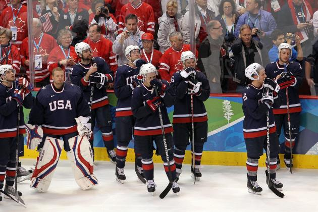 US Men's National Hockey Team: 10 Likely 1st-Time Olympians in 2014