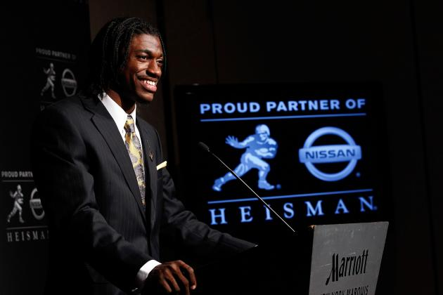 Robert Griffin, Cam Newton, Mark Ingram: You Just Won the Heisman! (Or Did You?)
