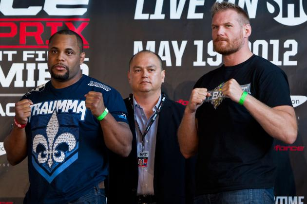Strikeforce Results: Josh Barnett vs. Daniel Cormier Fight Card