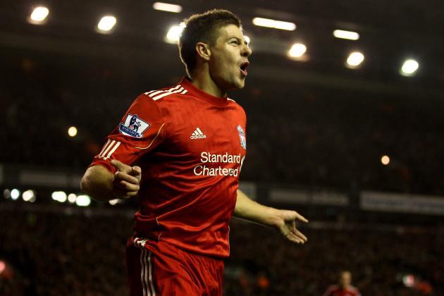 Steven Gerrard: Top 10 Moments of Liverpool Captain's Career