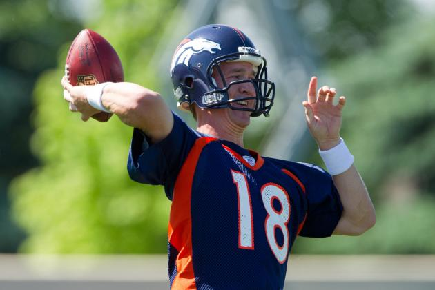 Peyton Manning at OTAs: Predicting the Denver Broncos' Offensive Depth Chart