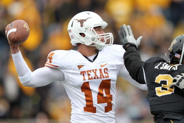 Texas Football: Breaking Down the Longhorns Continuing QB Battle