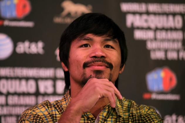 Pacquiao vs. Bradley: 10 Reasons Pac-Man Will Win Easily on June 9