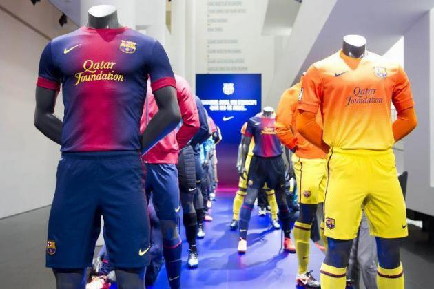 The New FC Barcelona 2012-13 Jerseys Are Here!