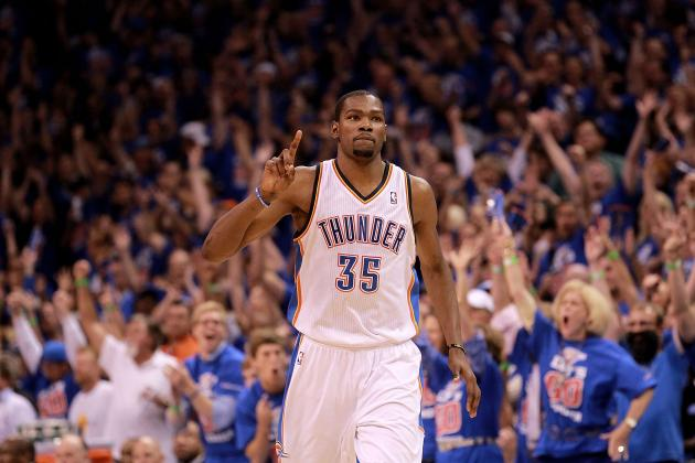 NBA Playoffs 2012: Oklahoma City Thunder and Who's Hot, Who's Not in the NBA