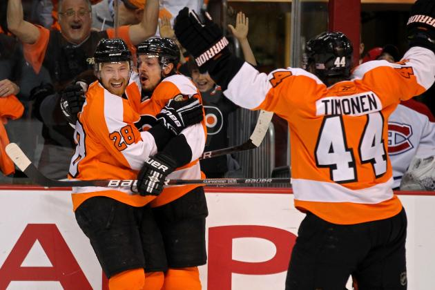 Philadelphia Flyers: 8 Potential Captains If Chris Pronger Does Not Return