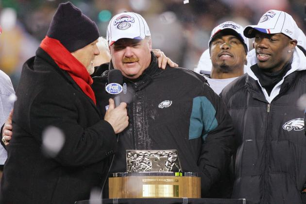 Andy Reid Highlights Philadelphia Eagles All-Time Coaching Staff