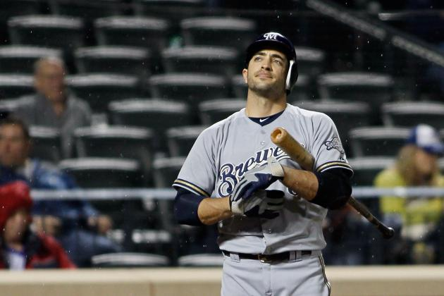 NL MVP Rankings: Matt Kemp, David Wright on Top, but What About Ryan Braun?
