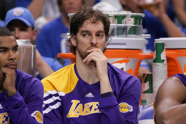 Los Angeles Lakers: 5 Trade Destinations for Pau Gasol