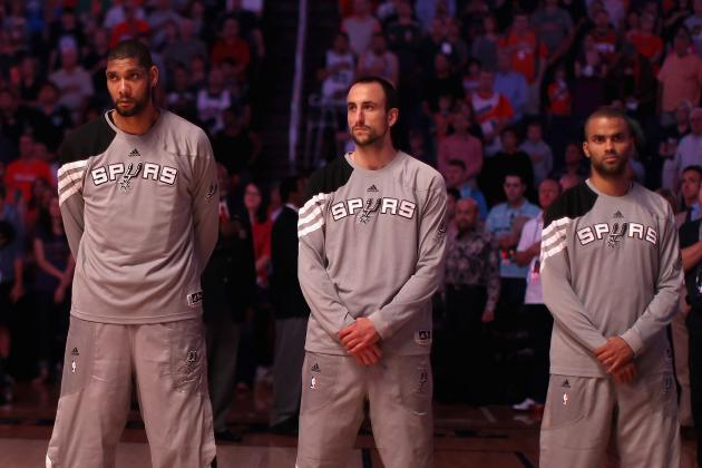 Ranking San Antonio Spurs' Big 3 with NBA's Best of All Time