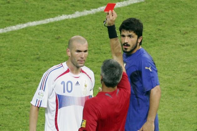 10 Famous Red Cards in Football History
