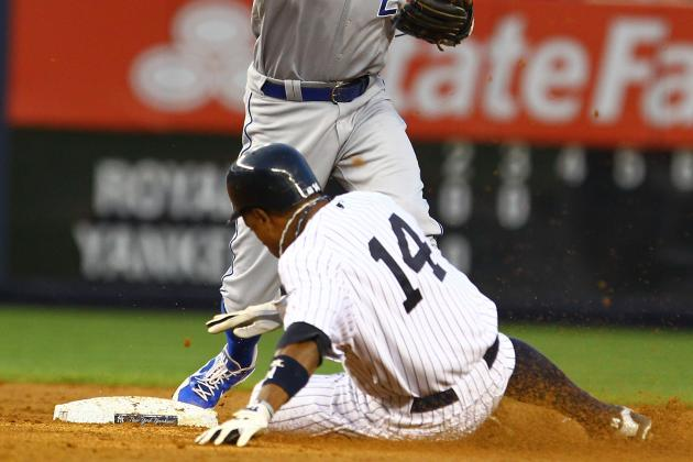 10 Explanations for Curtis Granderson Abandoning the Stolen Base