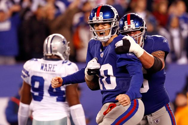 New York Giants: Predicting the Stat Lines for the Offensive Starters in 2012